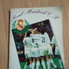 Álbum de fútbol completo: ALBUM CROMOS DEL REAL MADRID, COMPLETO, VIENE BALONCESTO Y FUTBOL. Lote 122369775