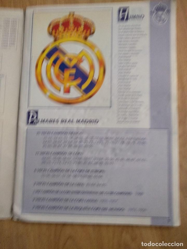 Álbum de fútbol completo: ALBUM CROMOS DEL REAL MADRID, COMPLETO, VIENE BALONCESTO Y FUTBOL - Foto 2 - 122369775