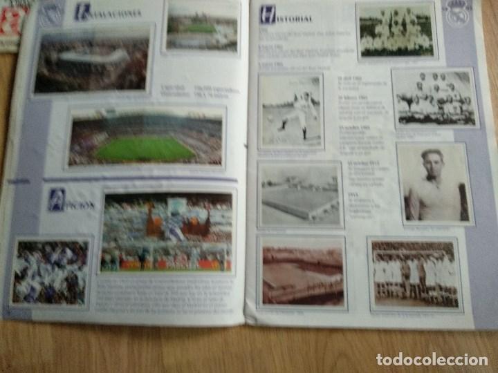 Álbum de fútbol completo: ALBUM CROMOS DEL REAL MADRID, COMPLETO, VIENE BALONCESTO Y FUTBOL - Foto 3 - 122369775