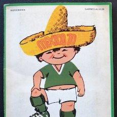 Álbum de fútbol completo: ALBUM DE CROMOS BERGMANN MUNDIAL 1970 MEXICO 70 - 100% COMPLETO. Lote 44440602