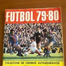 Álbum de fútbol completo: FUTBOL 79 80 CROMO CROM COMPLETO. Lote 136271289