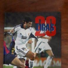 Álbum de fútbol completo: 28 LIGAS BLANCAS REAL MADRID. Lote 123052655