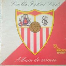 Álbum de fútbol completo: ALBUM DE CROMOS SEVILLA FUTBOL CLUB COLECCION OFICIAL 1991.180 CROMOS PEGADOS.VER FOTOS.FUTBOL. Lote 123582162