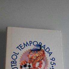 Álbum de fútbol completo: ATHLETIC CLUB BILBAO. ARCHIVADOR Y FICHAS DE LA TEMPORADA 95-96. COMPLETO.. Lote 123821856
