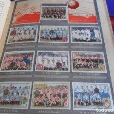 Álbum de fútbol completo: LIGA TEMPORADA 1944. GALLINA BLANCA ALBUM PRIMERO COMPLETO. 2ª EDICIÓN. BUEN ESTADO CON TICKETS.. Lote 123857239