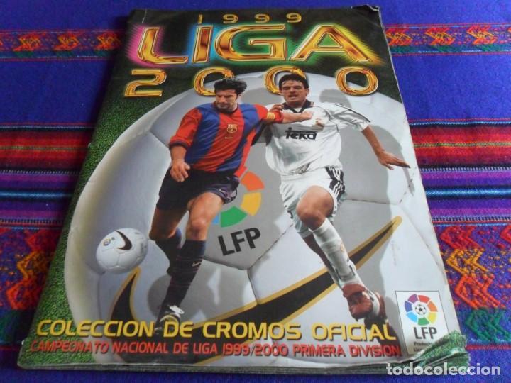 ESTE LIGA 1999 2000 99 00 COMPLETO CON MUCHOS DOBLES. REGALO ASES DE LA LIGA 1990 1991 COMPLETO. (Coleccionismo Deportivo - Álbumes y Cromos de Deportes - Álbumes de Fútbol Completos)