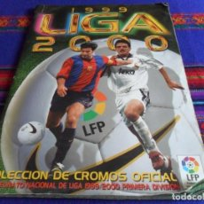 Álbum de fútbol completo: ESTE LIGA 1999 2000 99 00 COMPLETO CON MUCHOS DOBLES. REGALO ASES DE LA LIGA 1990 1991 COMPLETO.. Lote 123878287