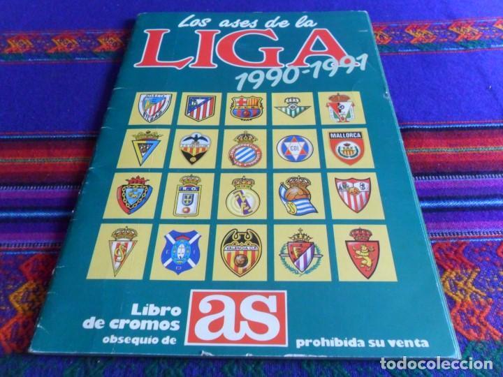 Álbum de fútbol completo: ESTE LIGA 1999 2000 99 00 COMPLETO CON MUCHOS DOBLES. REGALO ASES DE LA LIGA 1990 1991 COMPLETO. - Foto 2 - 123878287