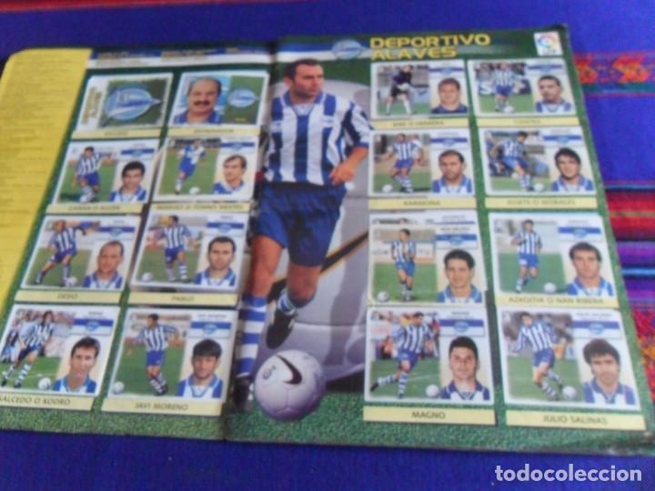 Álbum de fútbol completo: ESTE LIGA 1999 2000 99 00 COMPLETO CON MUCHOS DOBLES. REGALO ASES DE LA LIGA 1990 1991 COMPLETO. - Foto 3 - 123878287