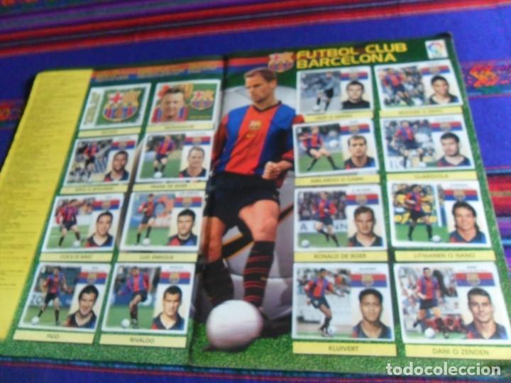 Álbum de fútbol completo: ESTE LIGA 1999 2000 99 00 COMPLETO CON MUCHOS DOBLES. REGALO ASES DE LA LIGA 1990 1991 COMPLETO. - Foto 5 - 123878287