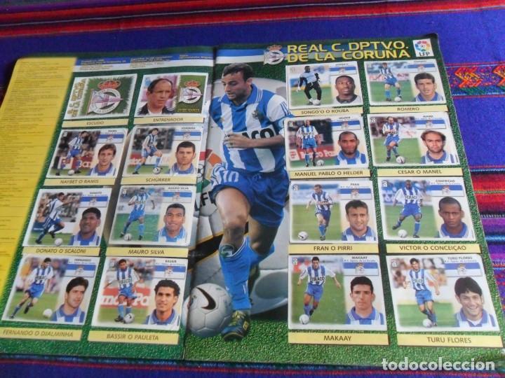 Álbum de fútbol completo: ESTE LIGA 1999 2000 99 00 COMPLETO CON MUCHOS DOBLES. REGALO ASES DE LA LIGA 1990 1991 COMPLETO. - Foto 8 - 123878287