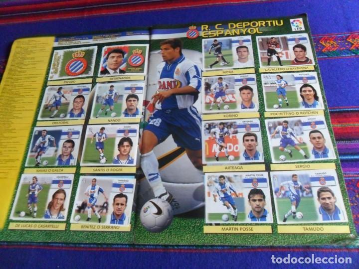 Álbum de fútbol completo: ESTE LIGA 1999 2000 99 00 COMPLETO CON MUCHOS DOBLES. REGALO ASES DE LA LIGA 1990 1991 COMPLETO. - Foto 9 - 123878287