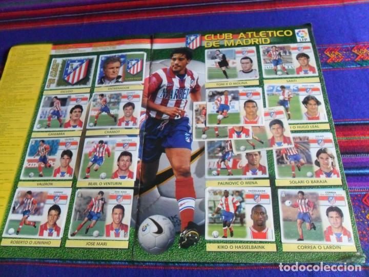Álbum de fútbol completo: ESTE LIGA 1999 2000 99 00 COMPLETO CON MUCHOS DOBLES. REGALO ASES DE LA LIGA 1990 1991 COMPLETO. - Foto 10 - 123878287