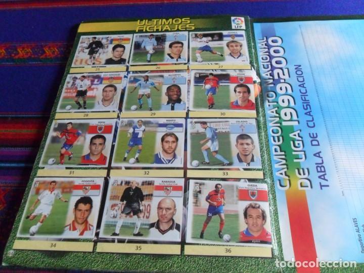 Álbum de fútbol completo: ESTE LIGA 1999 2000 99 00 COMPLETO CON MUCHOS DOBLES. REGALO ASES DE LA LIGA 1990 1991 COMPLETO. - Foto 24 - 123878287