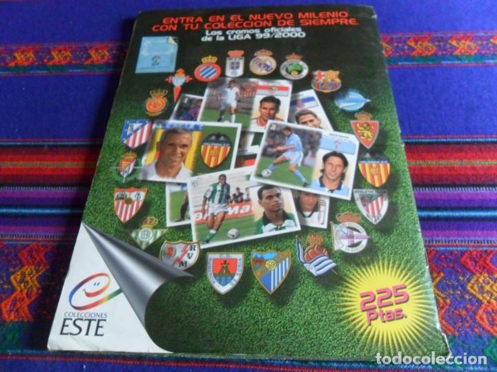 Álbum de fútbol completo: ESTE LIGA 1999 2000 99 00 COMPLETO CON MUCHOS DOBLES. REGALO ASES DE LA LIGA 1990 1991 COMPLETO. - Foto 25 - 123878287
