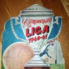 Álbum de fútbol completo: BUSCADO ALBUM CAMPEONATO DE LIGA 1960 - 61 EDITORIAL FHER COMPLETO. Lote 124591275