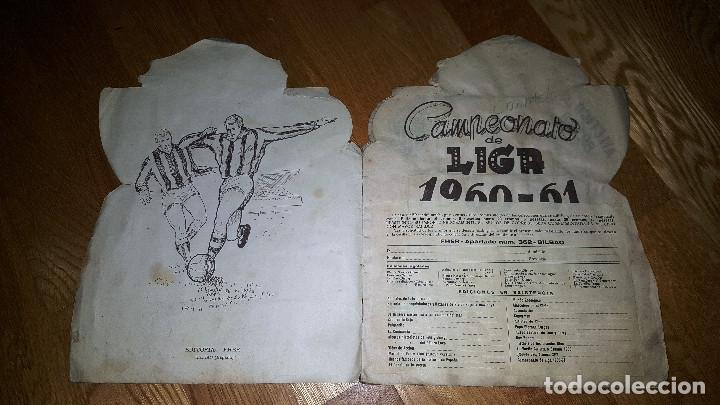 Álbum de fútbol completo: BUSCADO ALBUM CAMPEONATO DE LIGA 1960 - 61 EDITORIAL FHER COMPLETO + sobre vacio - Foto 2 - 124591275