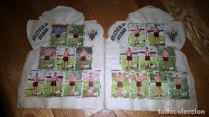 Álbum de fútbol completo: BUSCADO ALBUM CAMPEONATO DE LIGA 1960 - 61 EDITORIAL FHER COMPLETO + sobre vacio - Foto 3 - 124591275