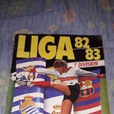 Álbum de fútbol completo: LIGA 82-83 ESTE COMPLETO CON 309 CROMO.VER FOTOS. Lote 125209564