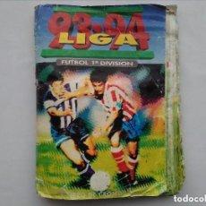 Álbum de fútbol completo: ALBUM COMPLETO, LIGA 93 94 FUTBOL 1ª DIVISION, (CONTIENE 431 CROMOS) EDICIONES ESTE , LEER. Lote 125258271