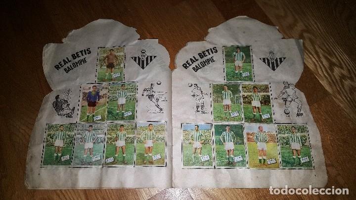 Álbum de fútbol completo: BUSCADO ALBUM CAMPEONATO DE LIGA 1960 - 61 EDITORIAL FHER COMPLETO + sobre vacio - Foto 8 - 124591275