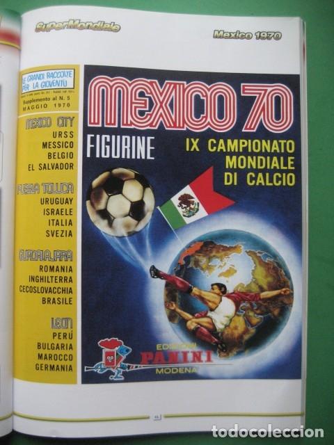 1970 COPA DEL MUNDO - LIBRO-ALBUM MUNDIAL DE FUTBOL MEXICO 70 - PANINI (Coleccionismo Deportivo - Álbumes y Cromos de Deportes - Álbumes de Fútbol Completos)