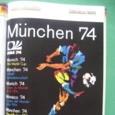 Álbum de fútbol completo: 1974 COPA DEL MUNDO - LIBRO - ALBUM MUNDIAL DE FUTBOL MUNICH 74 ALEMANIA - PANINI. Lote 172863104