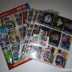 Álbum de fútbol completo: LIGA ESTE 2018. Lote 126236419