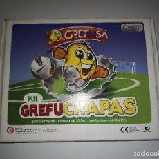Álbum de fútbol completo: GREFUCHAPAS DE LA LIGA. Lote 126237147
