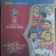 Álbum de fútbol completo: ADRENALYN WORLD CUP RUSSIA 2018 ALBUM COMPLETO. Lote 126406783