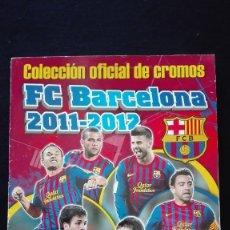Álbum de fútbol completo: ALBUM CROMOS BARÇA 2011-12. Lote 126465815