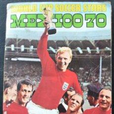 Álbum de fútbol completo: ALBUM DE CROMOS FKS MUNDIAL 1970 MEXICO 70 - INGLATERRA - 100% COMPLETO. Lote 128908018