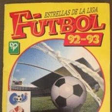 Álbum de fútbol completo: ÁLBUM COMPLETO (PANINI) FÚTBOL 92-93 - INCLUYE ESTRELLAS DE LA EUROCOPA 92. Lote 126706675