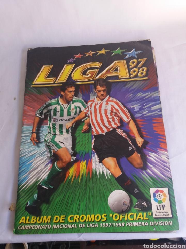 COLECCION CACI COMPLETA ALBUM LIGA ESTE 97 98 1997 1998 CROMOS MIRAR FOTOGRAFIAS (Coleccionismo Deportivo - Álbumes y Cromos de Deportes - Álbumes de Fútbol Completos)