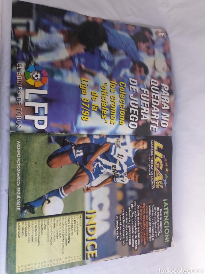 Álbum de fútbol completo: COLECCION CACI COMPLETA ALBUM LIGA ESTE 97 98 1997 1998 CROMOS MIRAR FOTOGRAFIAS - Foto 2 - 126876838