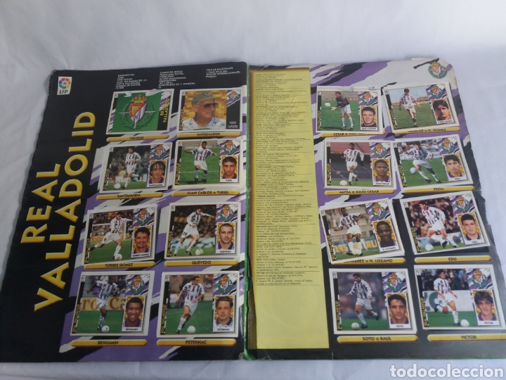 Álbum de fútbol completo: COLECCION CACI COMPLETA ALBUM LIGA ESTE 97 98 1997 1998 CROMOS MIRAR FOTOGRAFIAS - Foto 23 - 126876838