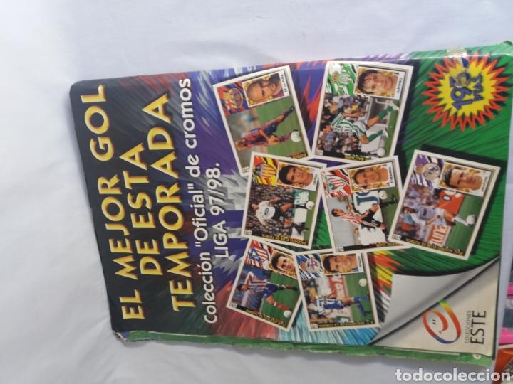 Álbum de fútbol completo: COLECCION CACI COMPLETA ALBUM LIGA ESTE 97 98 1997 1998 CROMOS MIRAR FOTOGRAFIAS - Foto 27 - 126876838