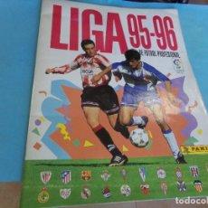 Álbum de fútbol completo: ALBUM LIGA 95-96 DE PANINI, COMPLETO 376 CROMOS, 340 MAS 36 FICHAJES. Lote 127545451