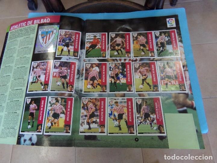 Álbum de fútbol completo: album liga 95-96 de panini, completo 376 cromos, 340 mas 36 fichajes - Foto 2 - 127545451