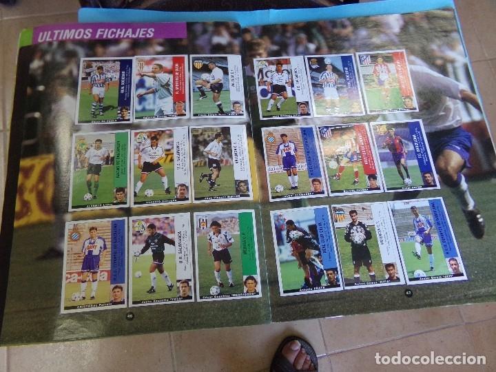 Álbum de fútbol completo: album liga 95-96 de panini, completo 376 cromos, 340 mas 36 fichajes - Foto 5 - 127545451
