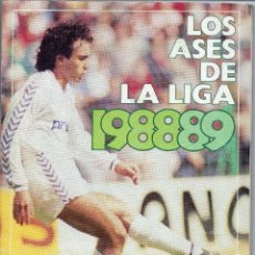 Álbum de fútbol completo: ALBUM LOS ASES DE LA LIGA 1988-89, COMPLETO 260 CROMOS. Lote 127548383