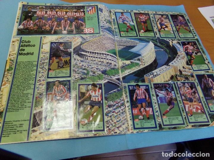 Álbum de fútbol completo: album los ases de la liga 1989-90, completo 260 cromos - Foto 3 - 127616459