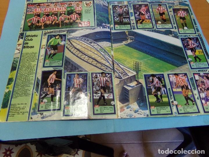 Álbum de fútbol completo: album los ases de la liga 1989-90, completo 260 cromos - Foto 4 - 127616459