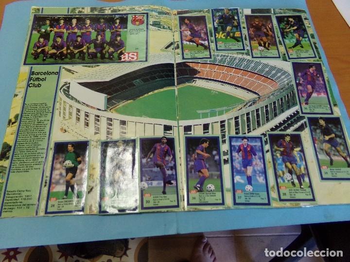 Álbum de fútbol completo: album los ases de la liga 1989-90, completo 260 cromos - Foto 5 - 127616459