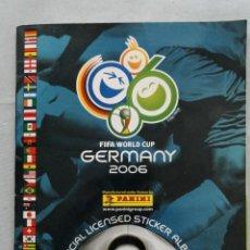 Álbum de fútbol completo: FIFA WORLD CUP GERMANY 2006 PANINI COMPLETO. Lote 127750827