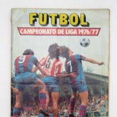 Álbum de fútbol completo: ALBUM 1976 1977 ESTE FUTBOL LIGA 76 77. CON 13 FICHAJES Y 14 DOBLES. CRUYFF AYALA IRIBAR PIRRI. Lote 127924607