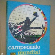 Álbum de fútbol completo: 1966 MUNDIAL INGLATERRA 1966 ALBUM CROMOS COMPLETO PELE ETC FHER DISGRA. Lote 127932999