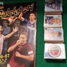 Álbum de fútbol completo: PANINI CALCIATORI 2006 2007 ALBUM VACIO PLANCHA + COLECCIÓN COMPLETA SIN PEGAR 06 07+ AGGIORNAMENTO. Lote 128058675