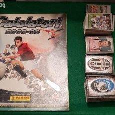Álbum de fútbol completo: PANINI CALCIATORI 2008 2009 ALBUM VACIO PLANCHA + COLECCIÓN COMPLETA SIN PEGAR 08 09 + AGGIORNAMENTO. Lote 128058731