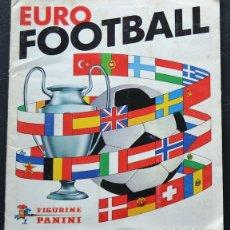 Álbum de fútbol completo: ALBUM DE CROMOS PANINI EURO FOOTBALL 1976-77 - 100% COMPLETO. Lote 151527413